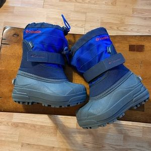 Children's size 8  Columbia waterproof boots.